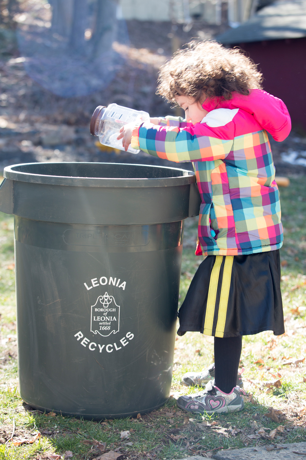 Recycling in Leonia